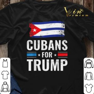 Cubans For Trump Pro Trump 2020 Supporter shirt sweater 2
