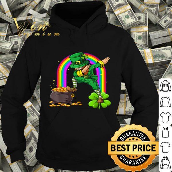 Dabbing Leprechaun Funny St Patrick's Day Dab Dance T-shirt
