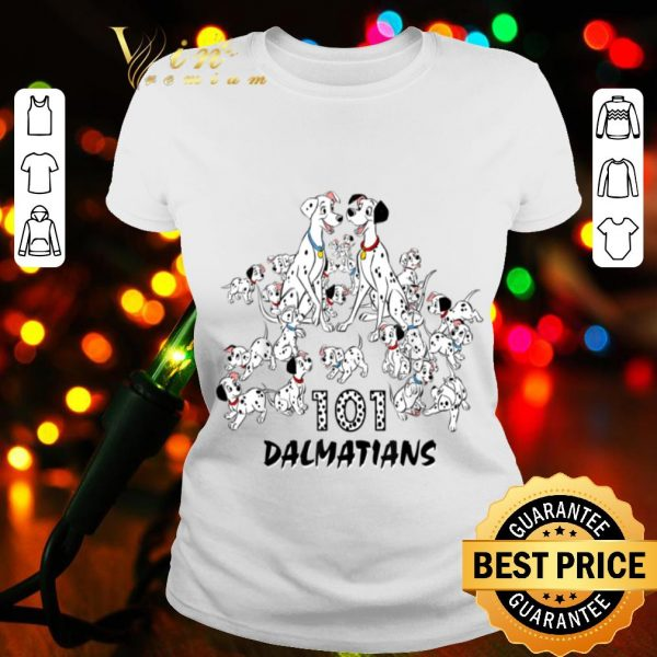 Disney 101 Dalmatians Group Shot Title Logo shirt