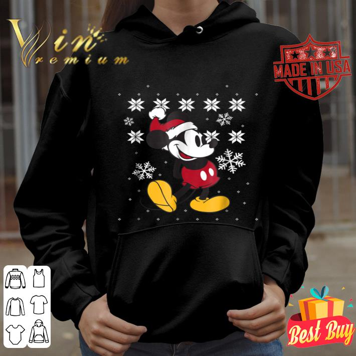 Disney Faux Ugly Christmas Sweater Mickey Mouse shirt, hoodie, sweater, longsleeve t shirt
