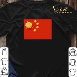 Flag of Coronavirus all of things made in China shirt sweater 2