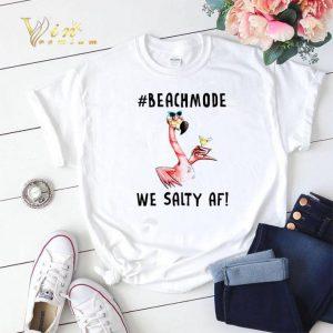 Flamingo Beachmode We Salty AF shirt sweater