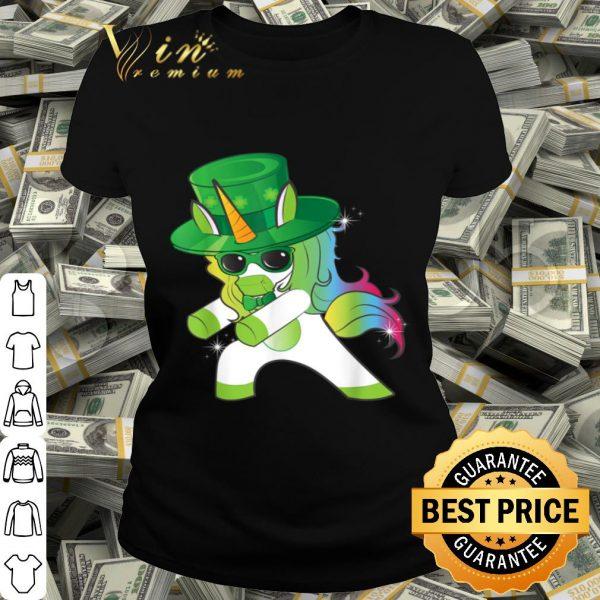 Flossing Unicorn St Patrick's Day Floss Dance Tshirt