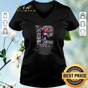 Funny 20th Anniversary Tom Brady New England Patriots 2020 shirt sweater