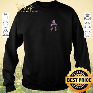 Funny Jeff Dunham in tiny pocket shirt sweater 2