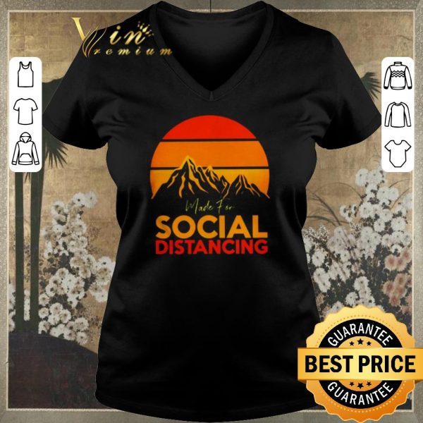 Funny Made for social distancing sunset shirt sweater