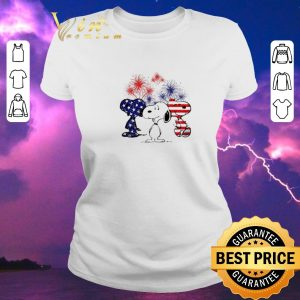 Funny Snoopy American Flag Version shirt sweater