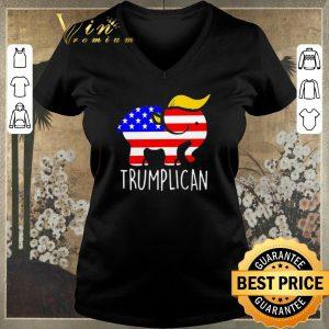 Funny Trumplican Elephant Trump 2020 shirt sweater 1