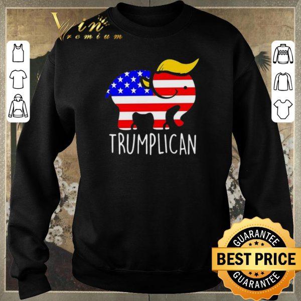 Funny Trumplican Elephant Trump 2020 shirt sweater