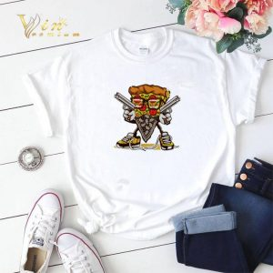 Hands up and give me the pizza shirt sweater 1