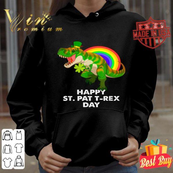 Happy St Pat T-Rex Day St Patricks Trex shirt