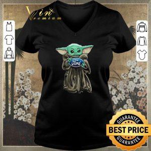 Hot Baby Yoda Hug Ford Motor Company Star Wars shirt sweater 1