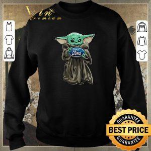 Hot Baby Yoda Hug Ford Motor Company Star Wars shirt sweater 2