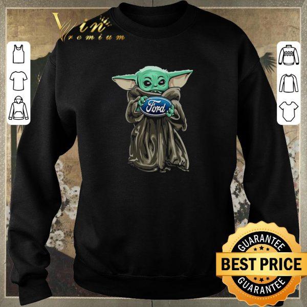 Hot Baby Yoda Hug Ford Motor Company Star Wars shirt sweater