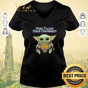 Hot Baby Yoda Hug Fort Valley State Wildcats Star Wars shirt sweater 1