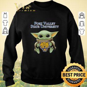 Hot Baby Yoda Hug Fort Valley State Wildcats Star Wars shirt sweater 2
