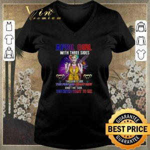 Hot Harley Quinn April girl with three sides you never want to see shirt sweater 1