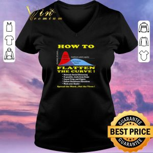 Hot How To Flatten The Curve Spread the word not the Virus shirt sweater 1