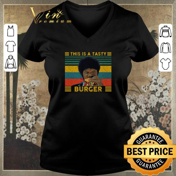 Hot Jules Winnfield This is a tasty burger vintage shirt sweater