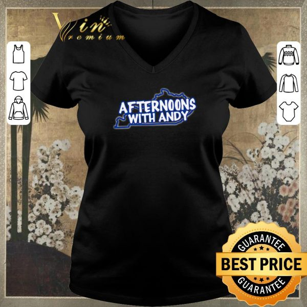 Hot Kentucky map afternoons with andy shirt sweater