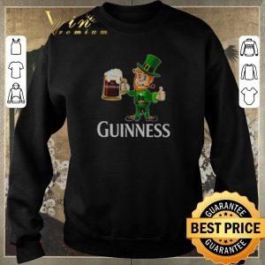 Hot Leprechaun drink Guinness beer shirt sweater 2