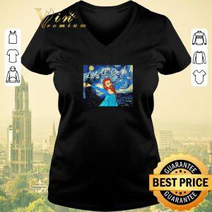 Hot Let It Gogh Elsa Mashup Van Gogh Starry Night shirt sweater 1