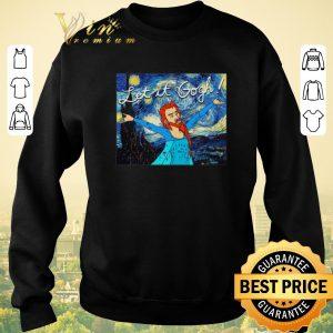 Hot Let It Gogh Elsa Mashup Van Gogh Starry Night shirt sweater 2