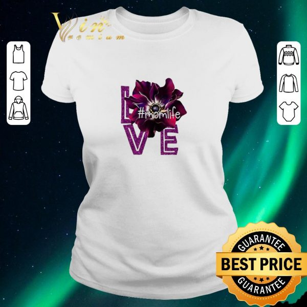Hot Love Momlife Anemone purple shirt sweater