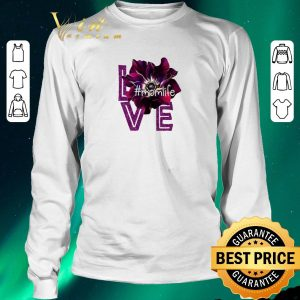 Hot Love Momlife Anemone purple shirt sweater 2