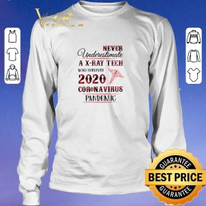 Hot Never underestimate a X-Ray Tech 2020 Coronavirus Pandemic shirt sweater 2