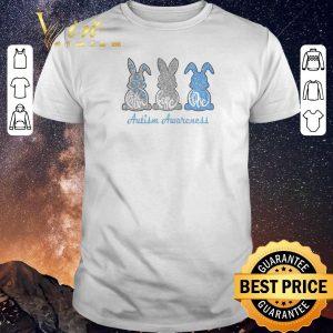 Hot Rabbit bunny Faith Hope Love Autism Awareness shirt sweater
