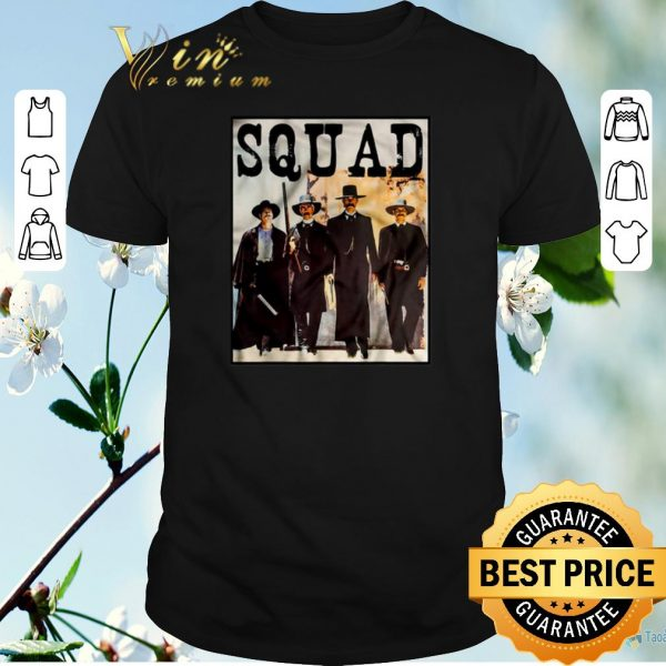 Hot Squad Tombstone Justice Is Coming shirt sweater