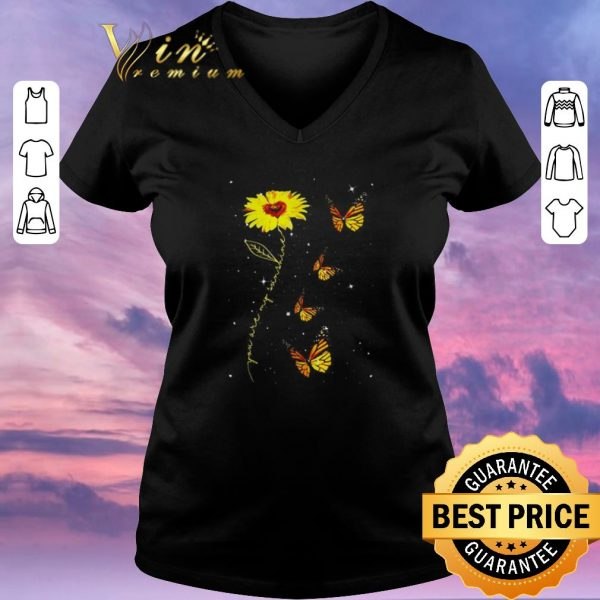 Hot You are my sunshine sunflower butterfly shirt sweater