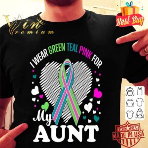 I Wear For My AUNT Metastatic Breast Cancer shirt