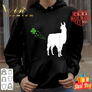 Llama St. Patricks Day Fart Womens Mens Gift T-shirt