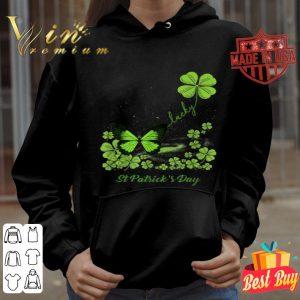 Lucky Butterfly Shamrock St Patrick's Day T-shirt