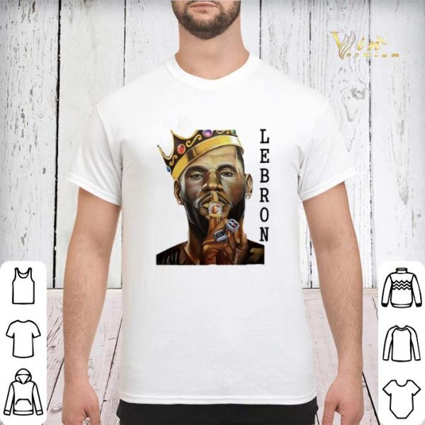 NBA LeBron James The King shirt sweater