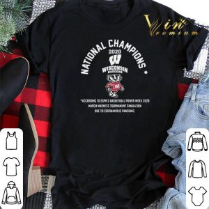 National Champions 2020 Wisconsin Badgers shirt sweater 1