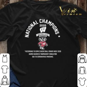National Champions 2020 Wisconsin Badgers shirt sweater 2