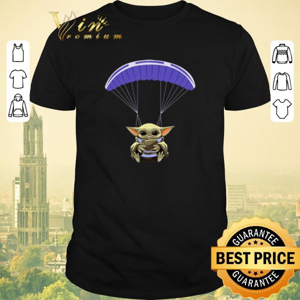 Nice Baby Yoda Parachute Star Wars shirt sweater