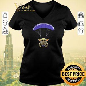 Nice Baby Yoda Parachute Star Wars shirt sweater 1