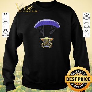 Nice Baby Yoda Parachute Star Wars shirt sweater 2