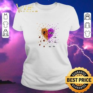Nice Baltimore Orioles and Baltimore Ravens heart shirt sweater