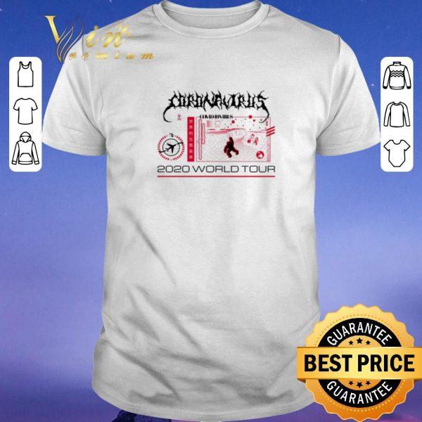 Nice Coronavirus Covid 19 Virus 2020 world tour shirt sweater