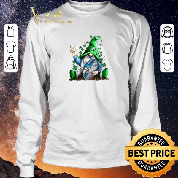 Nice Gnome hug Philadelphia Eagles St. Patrick's Day shirt sweater