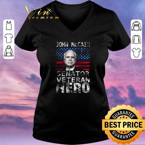 Nice John McCain American Hero Senator Veteran shirt sweater