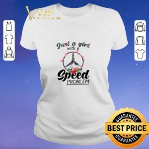 Nice Just a girl with a Mercedes Benz Logo speed problem shirt sweater 1