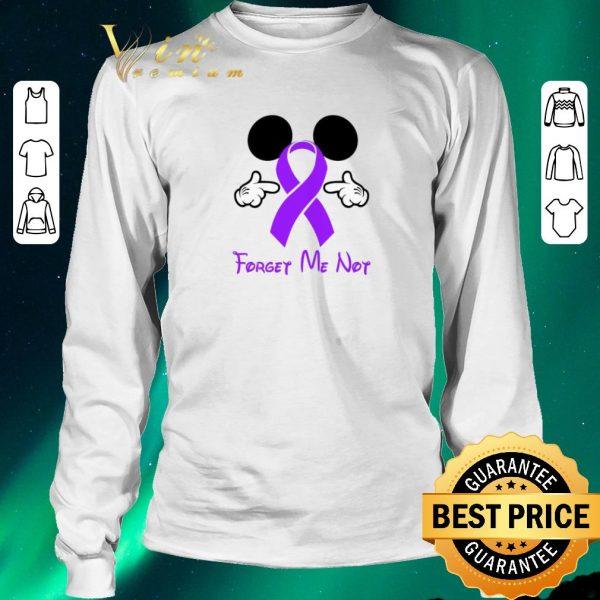 Nice Mickey mouse forget me not Fibromyalgia Awareness shirt sweater