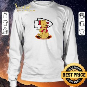 Nice Pooh tattoos Kansas City Chiefs logo shirt sweater 2
