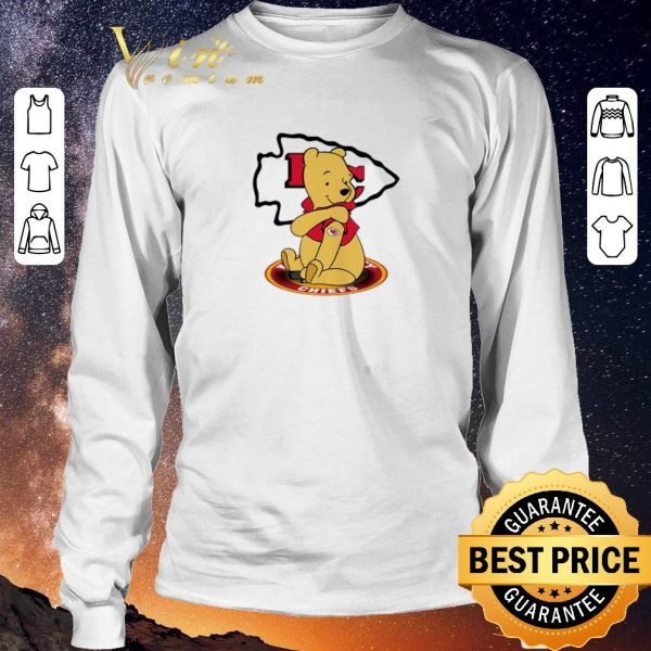 Nice Pooh tattoos Kansas City Chiefs logo shirt sweater